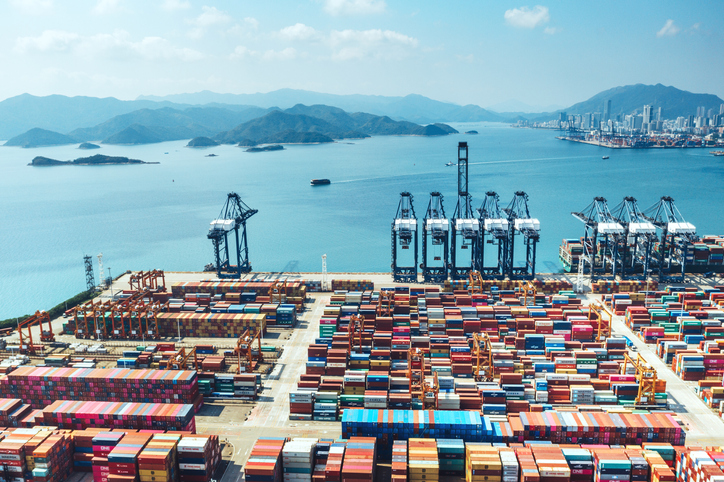 The Port of Shenzhen is the third largest transshipment port in the world