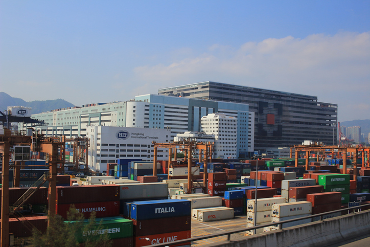 The Port of Hong Kong is the fifth busiest transshipment hub in the world