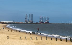 Great Yarmouth Upgrades with Liebherr Crane