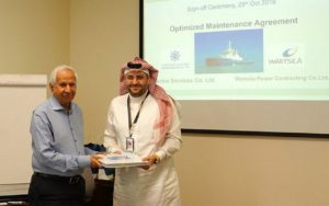 Wärtsilä to Optimize Saudi Shipping Firm