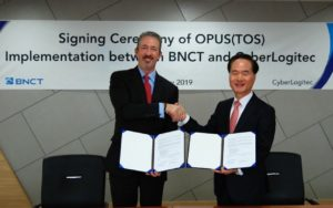 CyberLogitec Inks TOS Agreement with Busan Terminal