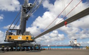 Liebherr Delivers Crane Boost to East Africa Port