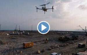Friday Focus: Drones Survey Israel's Future Port