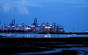 Port of Felixstowe Starts Recovery