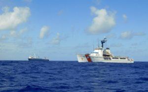 US Coast Guard Saves Stranded Seafarers