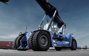 Bigger Tyres to Boost Empty Container Handling