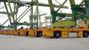 ABB AGV Innovation to Power Tuas Mega-Port