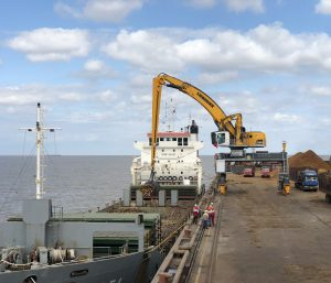Liebherr's 200-tonne electric machine accepted at DaFeng Port