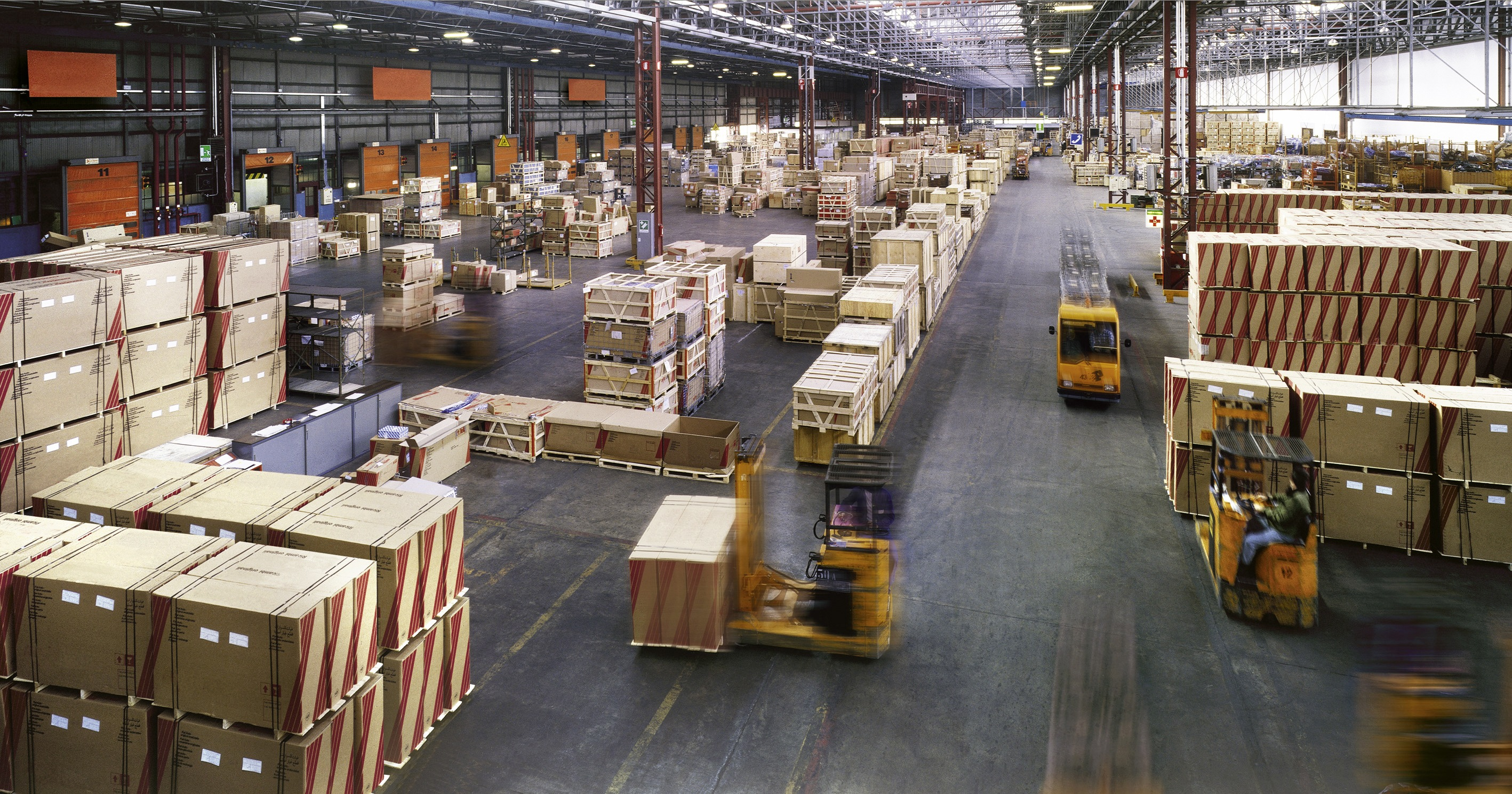 Indoor manufacturing and storage detail