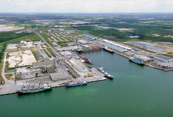 Arrow Terminals at Port Manatee Florida