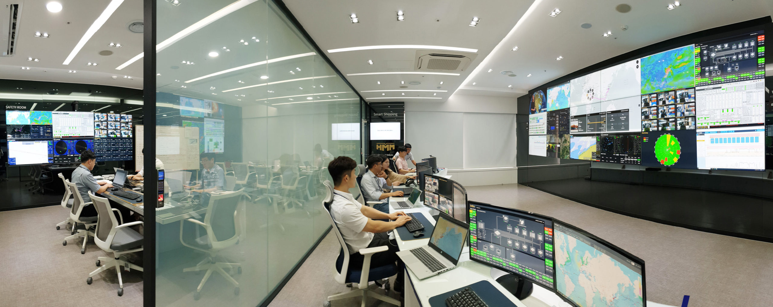 HMM Fleet control centre