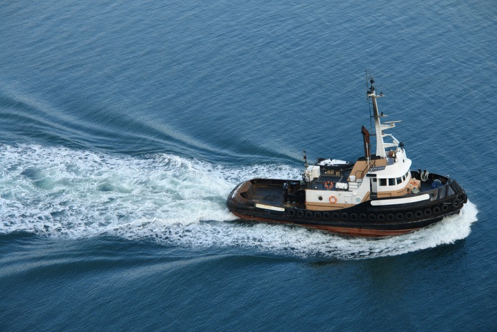 One of many tugboats that ply the waters around Vancouver, Canada.