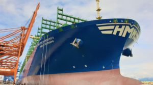 HMM unveils final addition to new mega-ship fleet