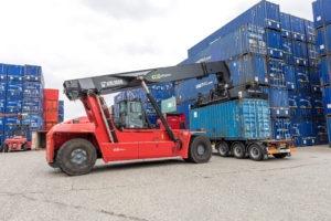 Kalmar Eco Reachstackers to increase capacity for Maritime Transport Ltd