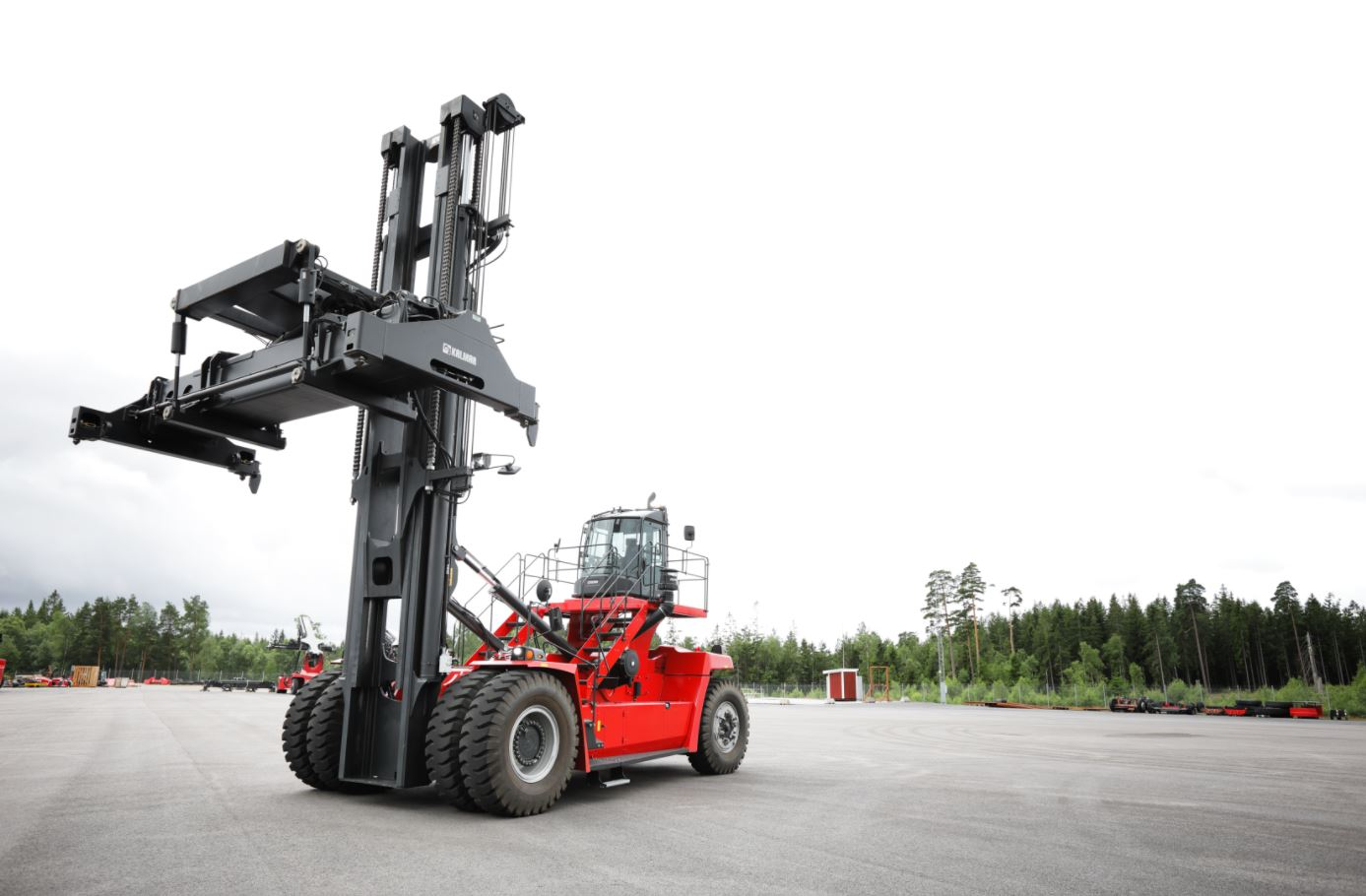 Kalmar has announced it will unveil new container handling technology
