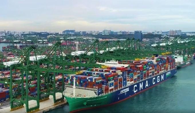 CMA CGM has broken the vessel utilisation record