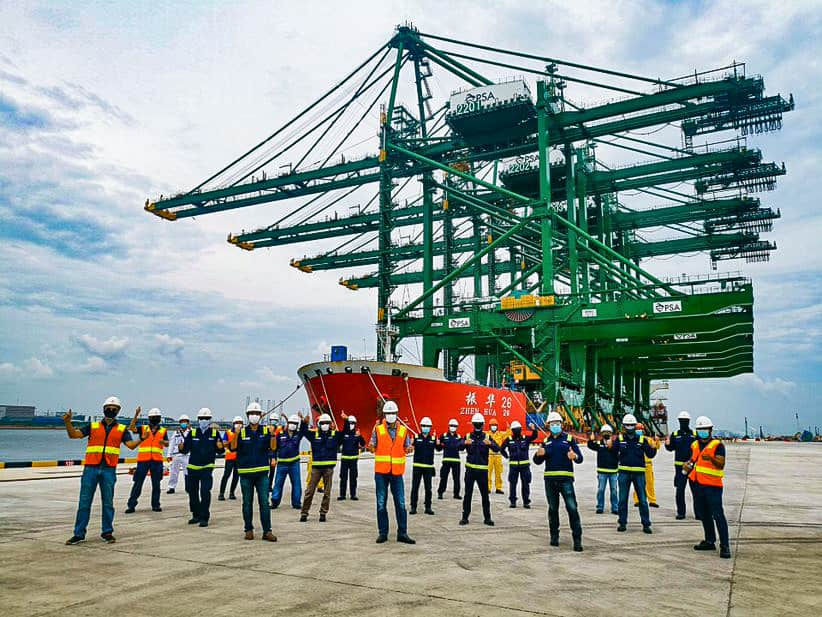 PSA Singapore takes delivery of cranes as Tuas opening nears