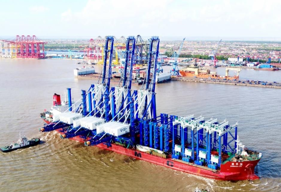 SC Ports is awaiting delivery of five STS cranes