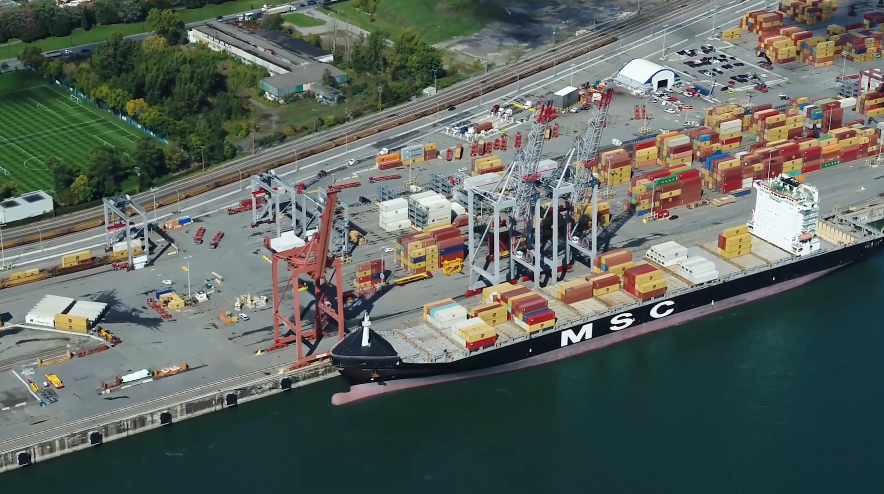 The Port of Montreal has said it will roll out an AI cargo handling system
