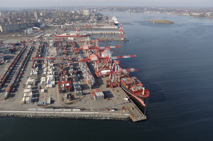 The Port of Halifax has opened the largest container berth on Canada's East Coast