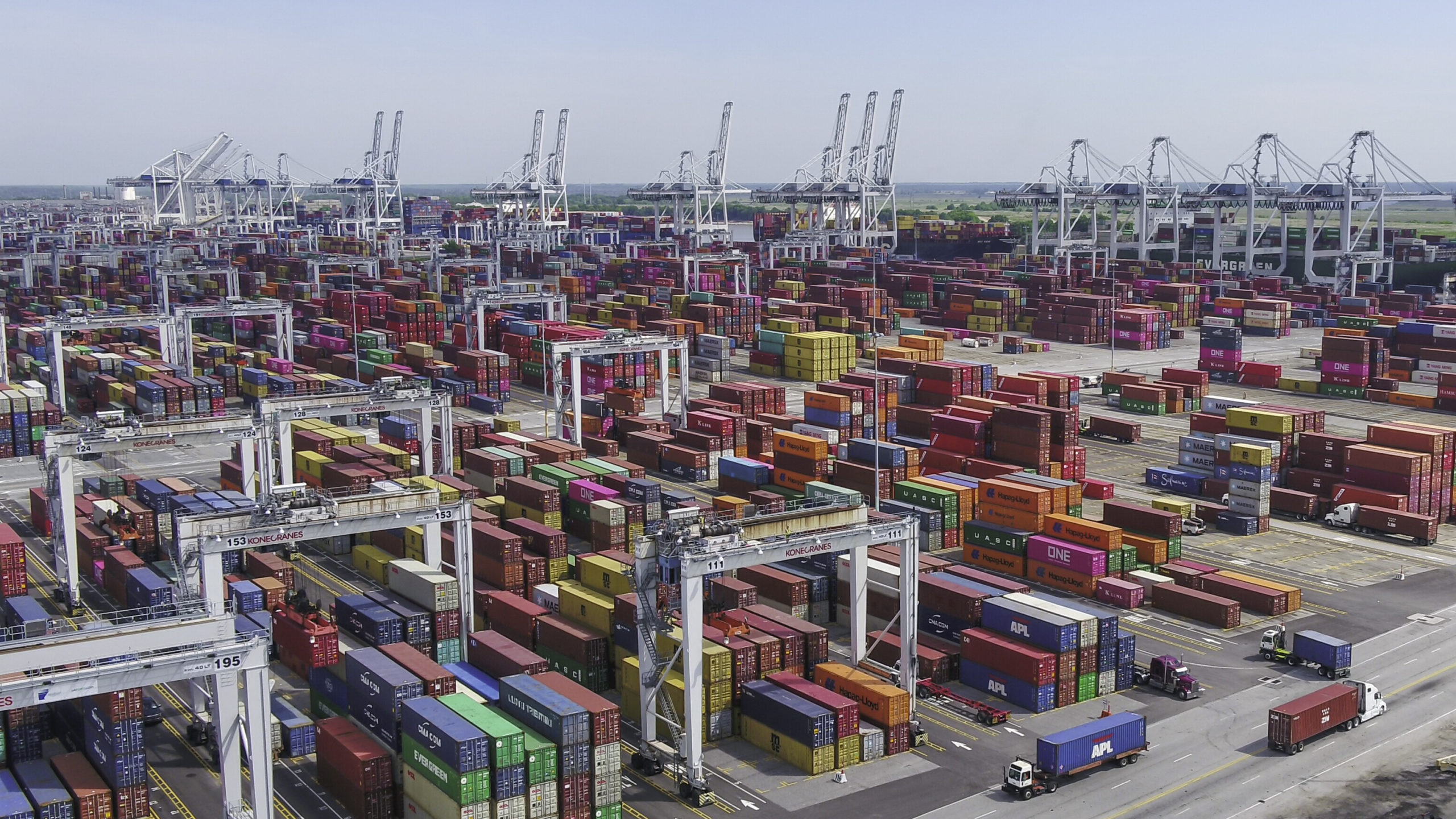 The Port of Savannah is the busiest export port in the US