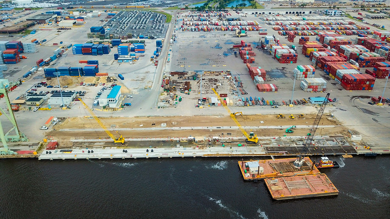 JAXPORT hails progress in terminal project