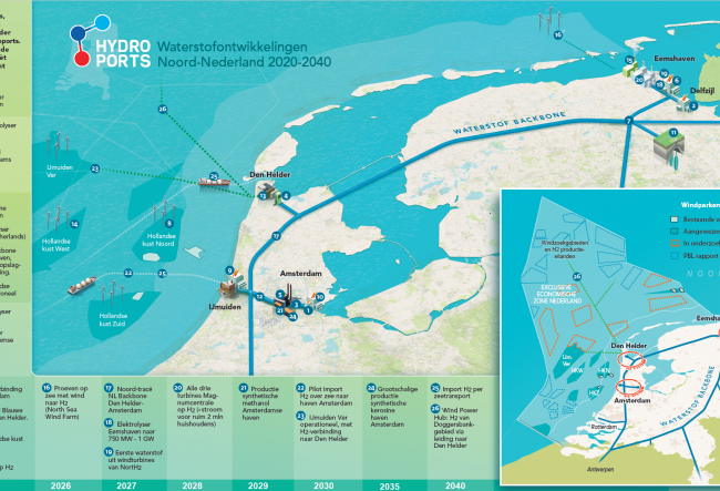 Port of Amsterdam to build blue hydrogen plant