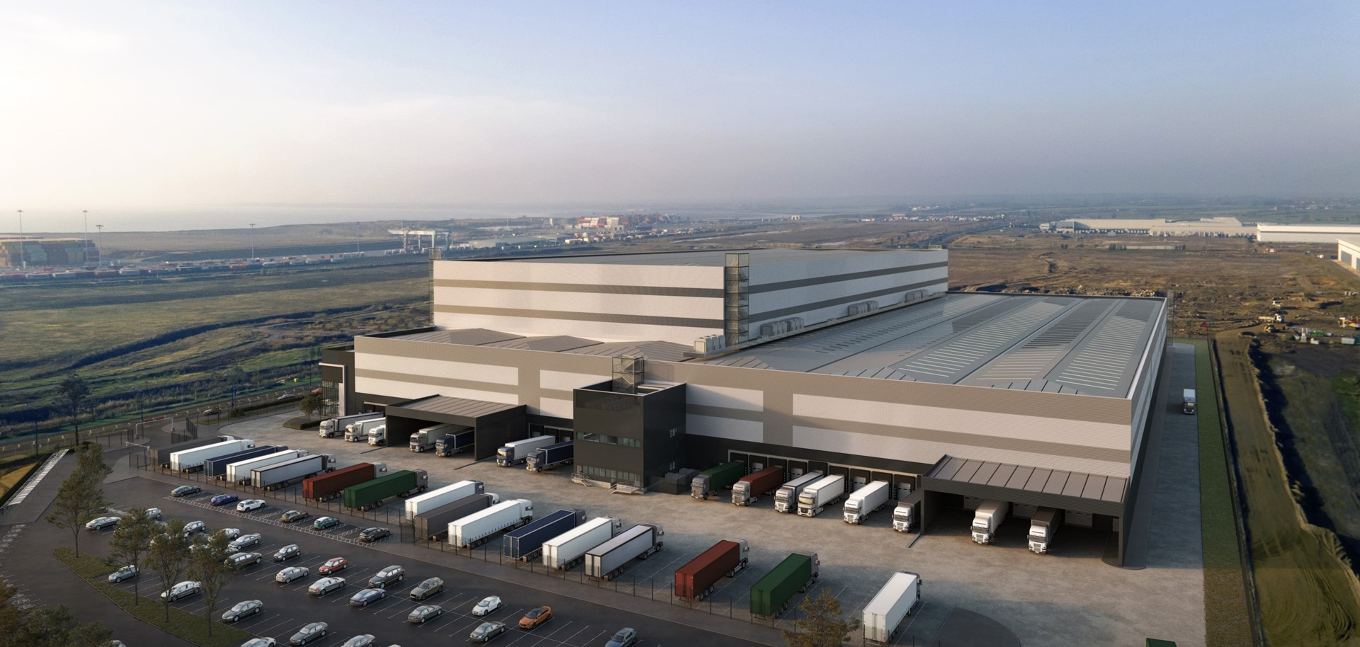 DHL and DP World begin work on new warehouse