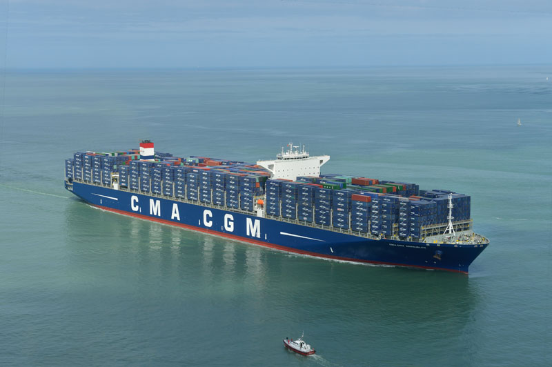 CMA CGM enjoys spike in volume and earnings