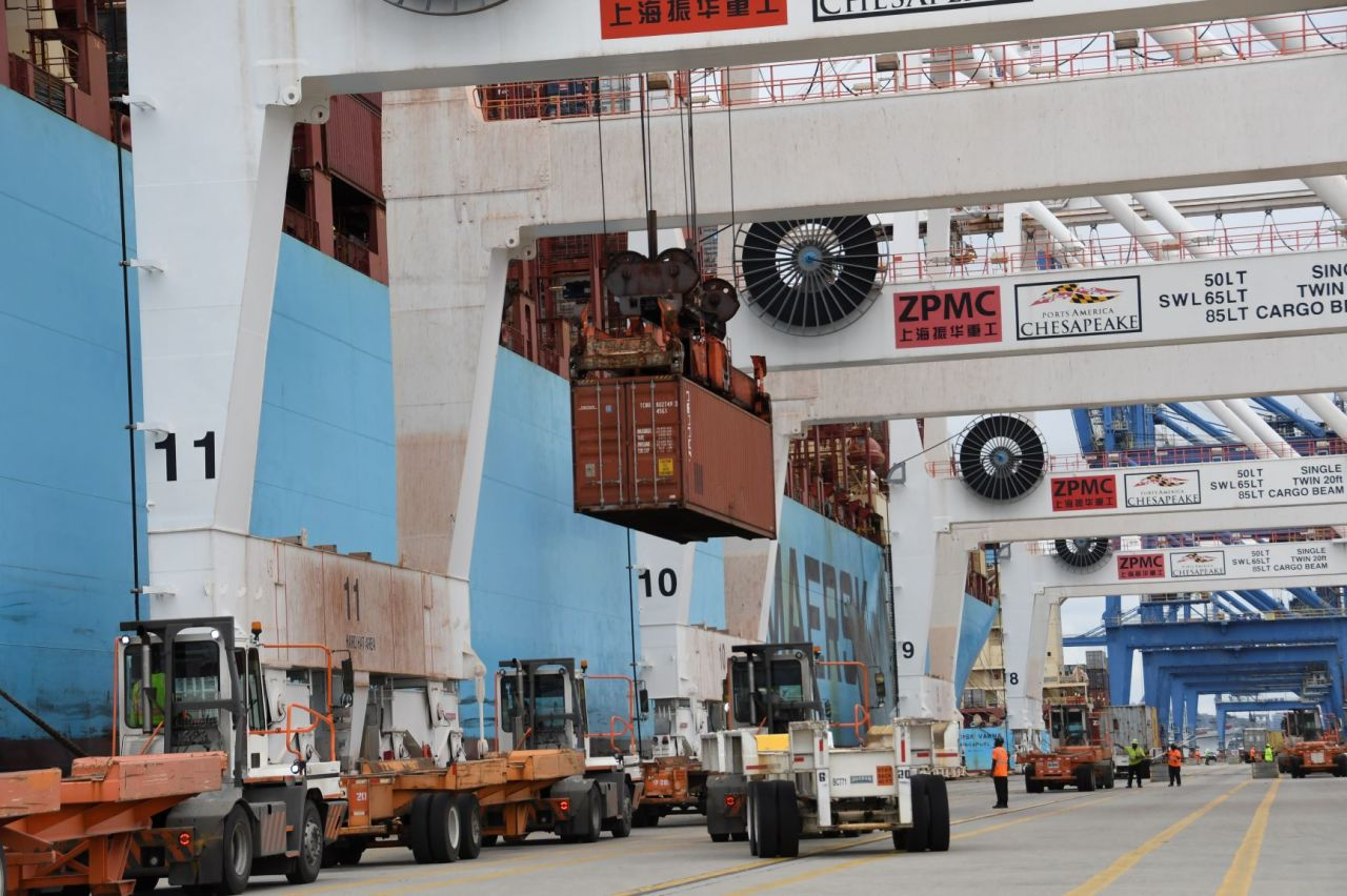 E-commerce sees Port of Baltimore's volume increase by 17%