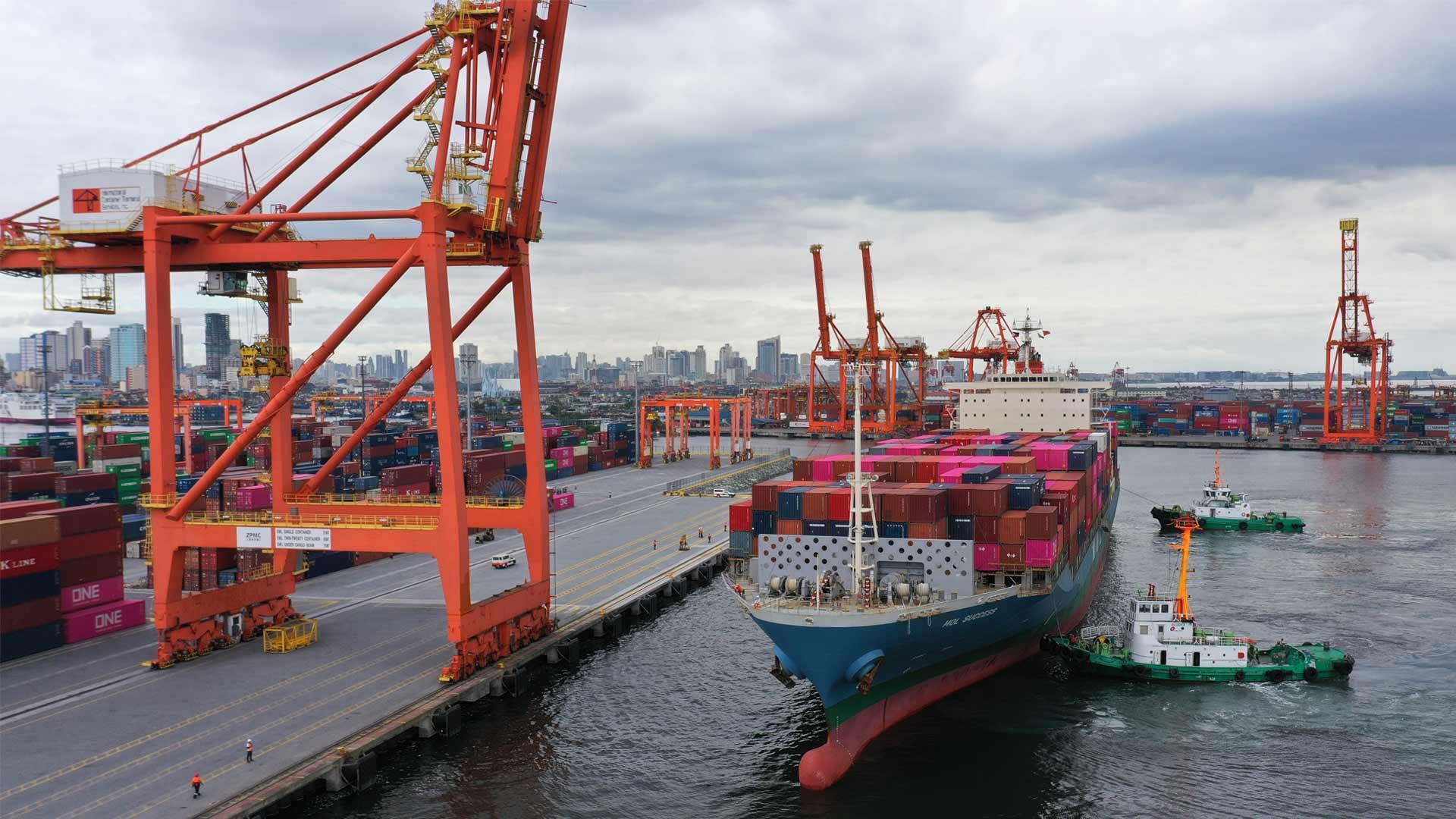 ICTSI completes berth expansion at flagship terminal
