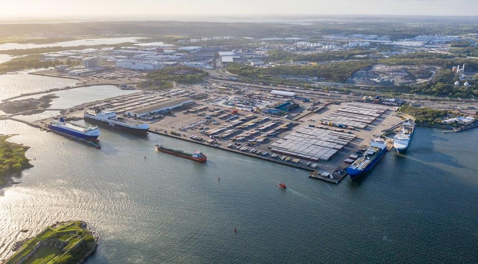 Gothenburg Port Authority launches shoreside network