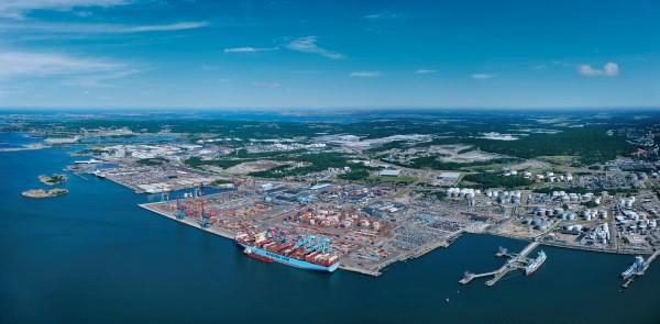 Port of Gothenburg escapes COVID-19