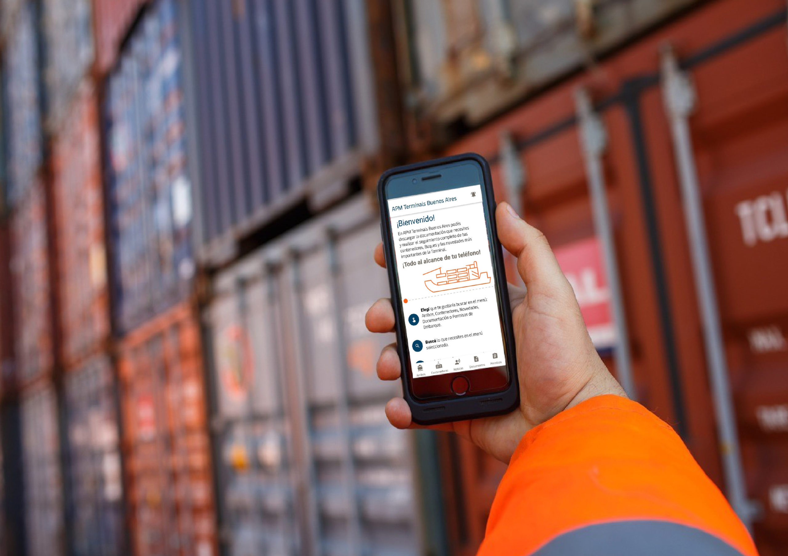 APMT Buenos Aires launches cargo tracking app