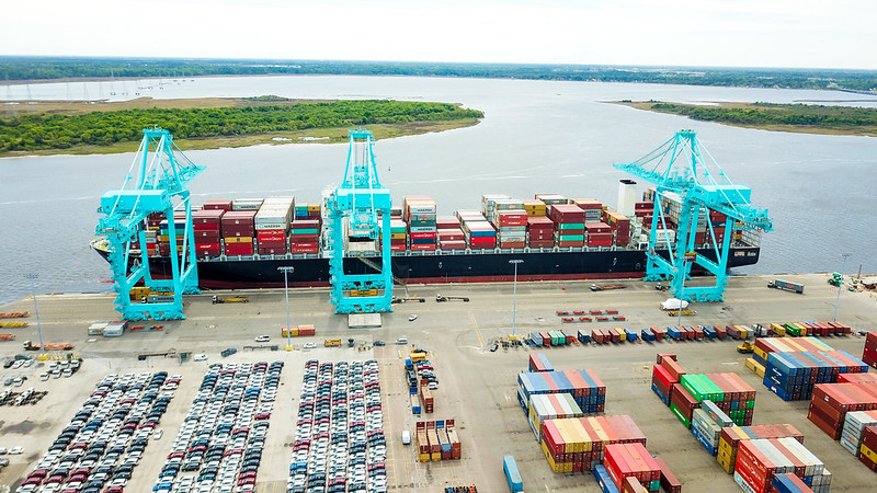JAXPORT sees opportunities as West Coast congestion continues