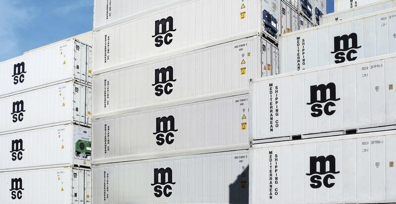 MSC breaks reefer record in 2020