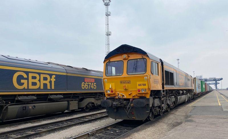 Port of Felixstowe Rail Service