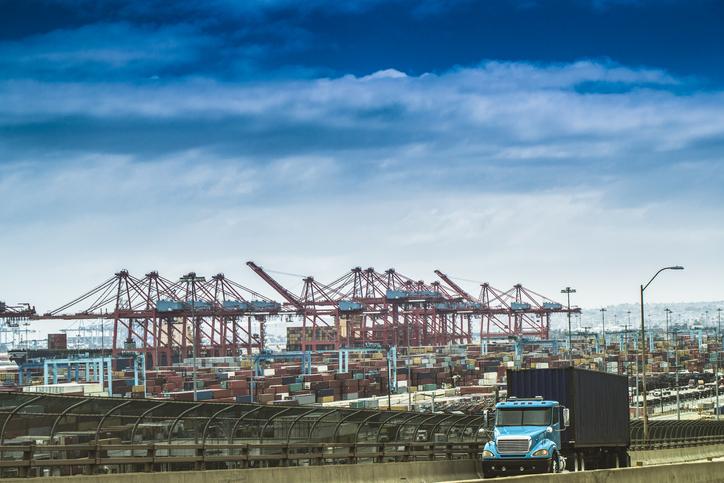 Port of Los Angeles enjoys record volume