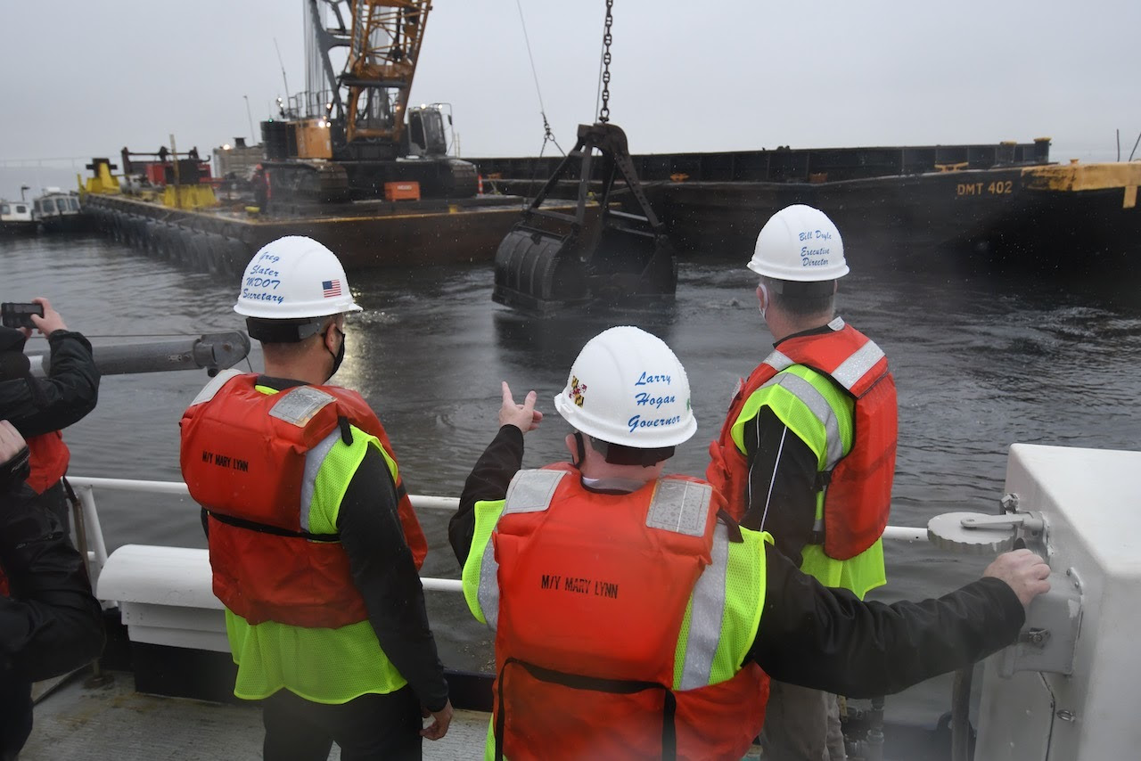 Port of Baltimore completes dredging operation