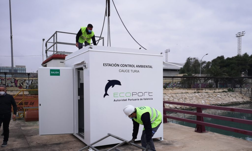 Environmental Control Booths at the Port of Valencia