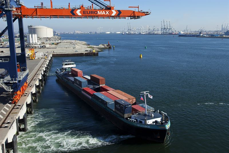 Wartsila to build barge at Port of Rotterdam
