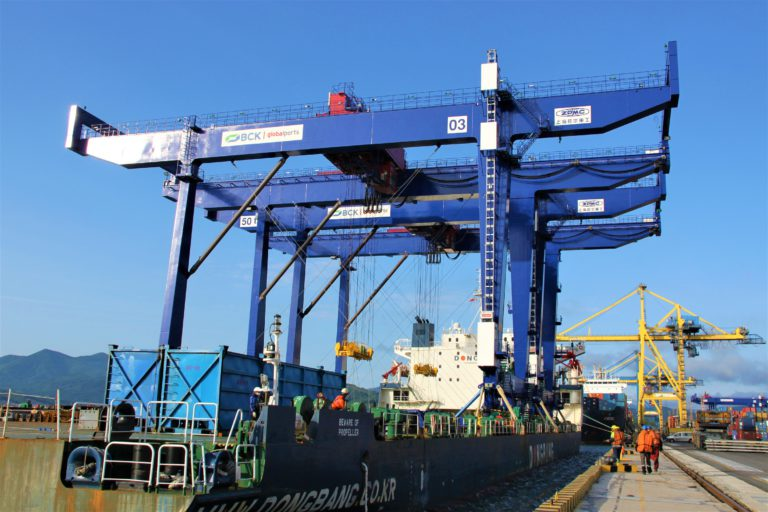 Global Ports increases capacity with two RMGs