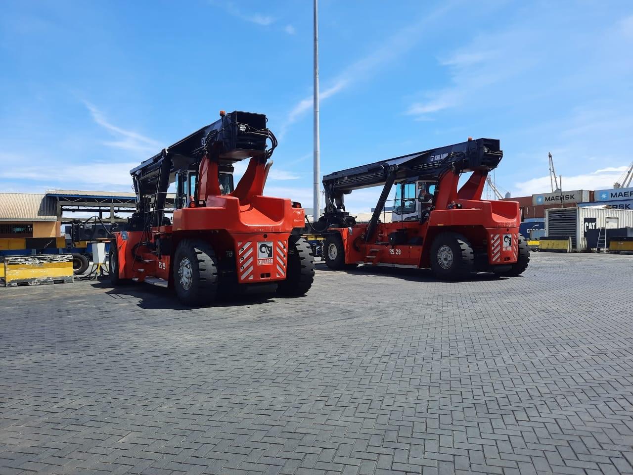 APM Terminals Liberia reach stackers