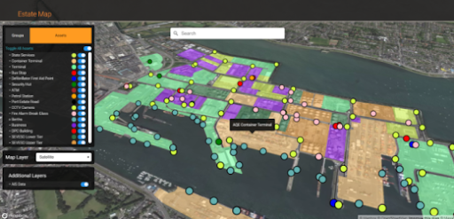 3DEO's digital twin at belfast habour helping ports with maintenance