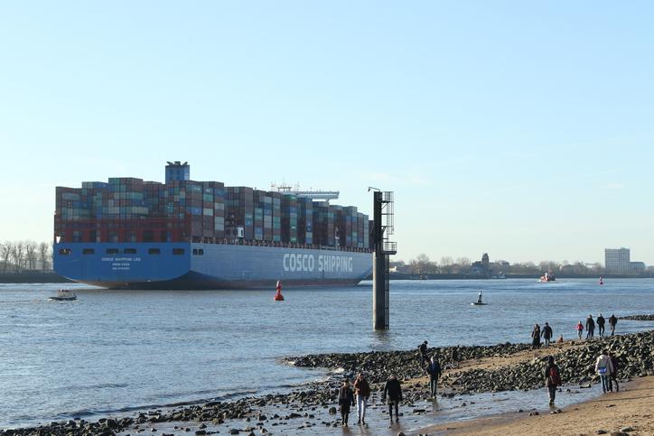COSCO makes vessel order of $1.5 billion