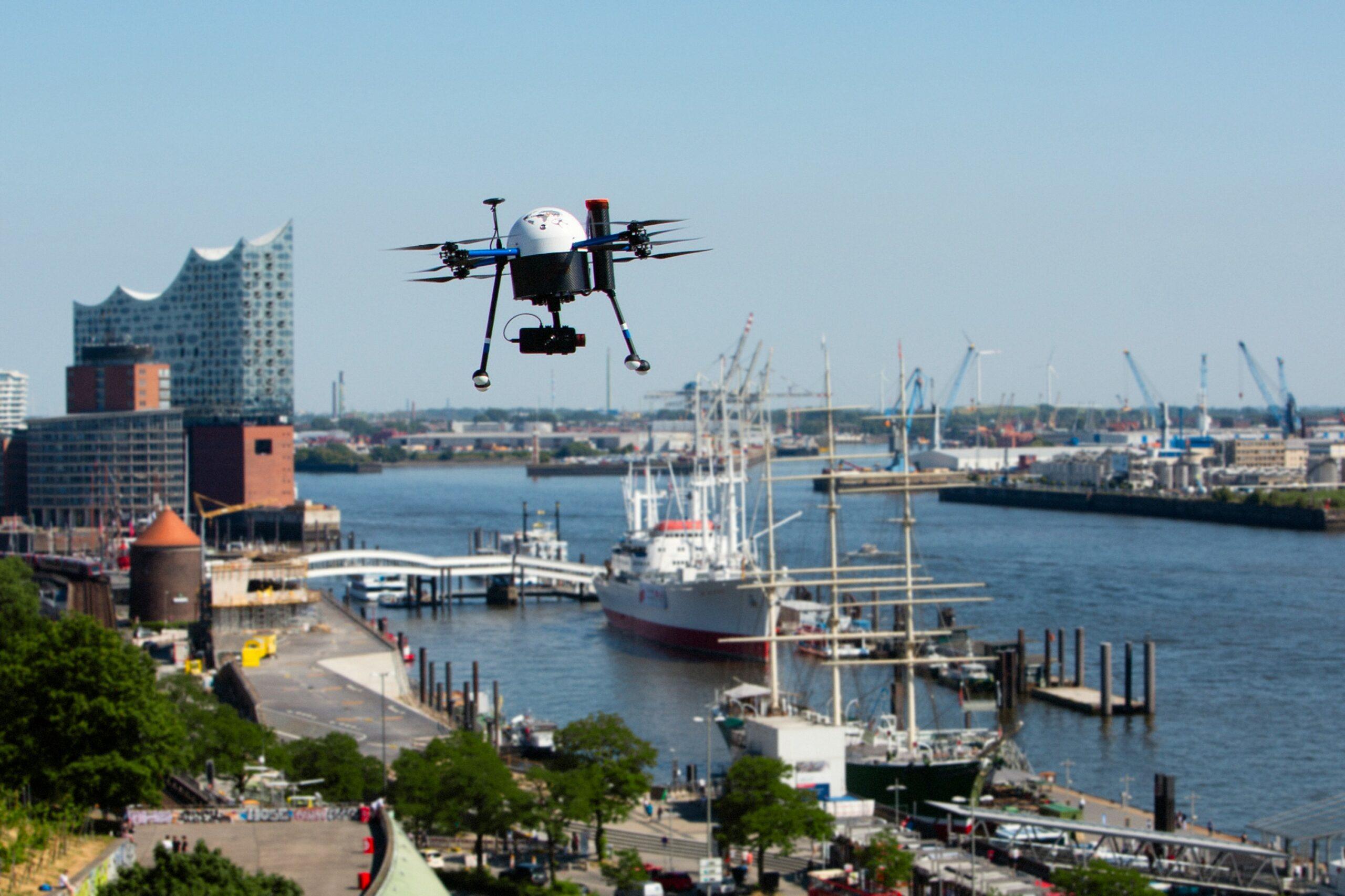 Port of Hamburg hosts drone system pilot
