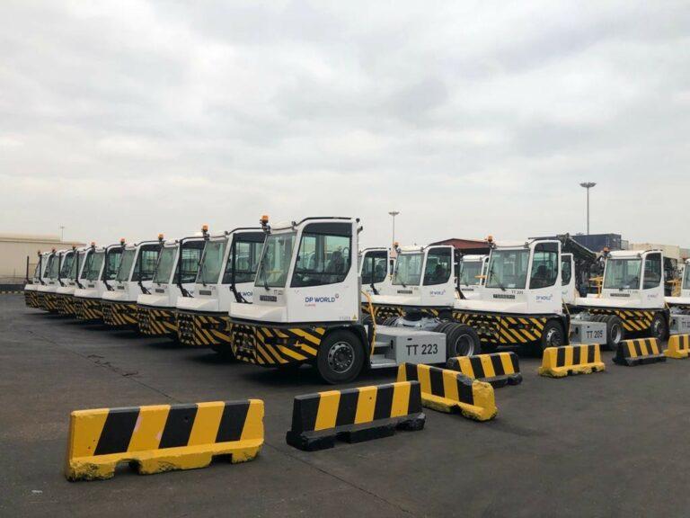 DP World Luanda acquires new tractor fleet