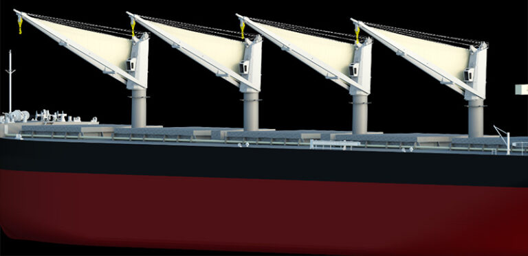 MOL to use wind power to handle cargo