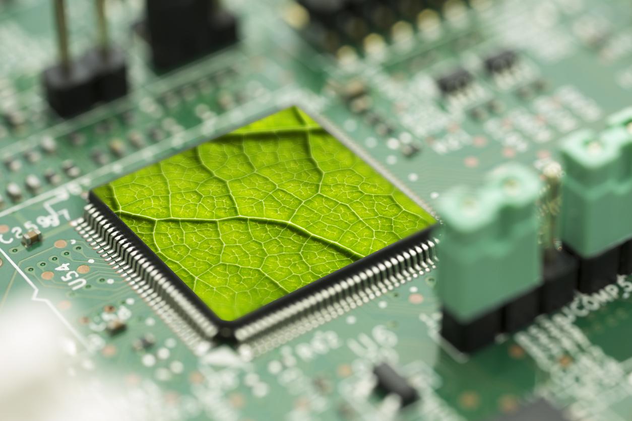 Environment Green Technology Computer Chip