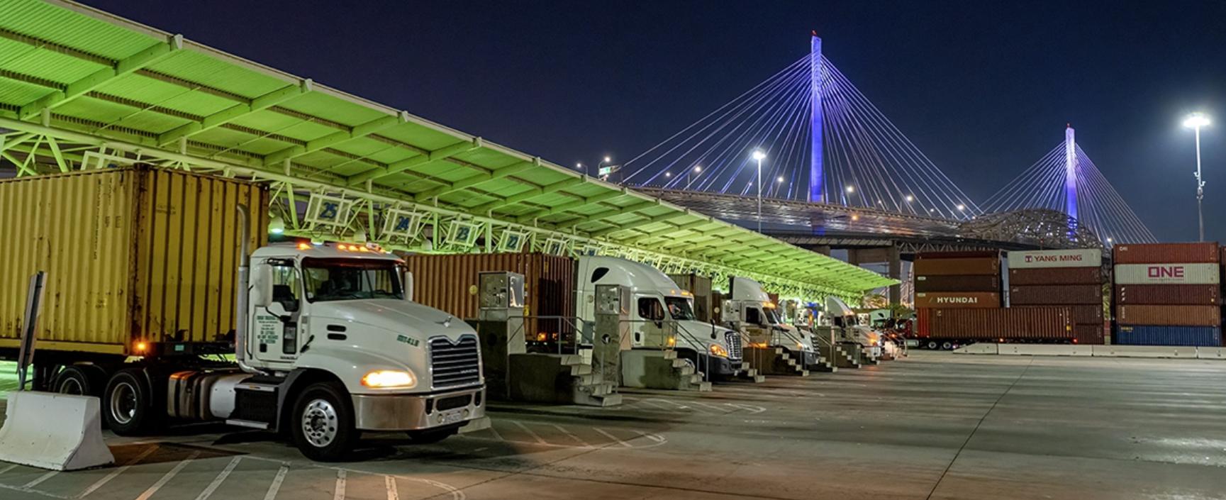 Long Beach trucks